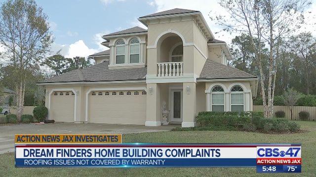 Dream Finders Homes Complaints Jacksonville Area Homebuilder Has A Rating Despite 44 Wjax Tv