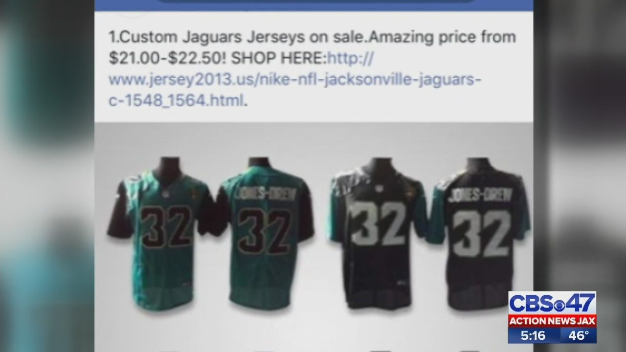 BBB Warning: Scammers Offering Deals On Fake Jacksonville Jaguars Gear |  WFOX TV