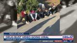 Drug bust video going viral