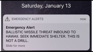 Hawaiian officials demand answers after false alarm of missile attack