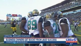 Business owners get boost from Jags