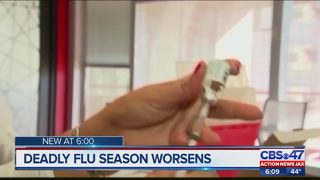 Deadly flu season worsens
