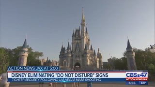 "Disney eliminating ""do not disturb"" signs"