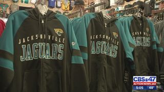 Sports merchandiser sees 1,200 percent increase in Jacksonville Jaguars gear