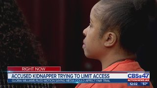 Accused kidnapper in court