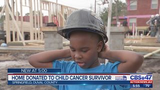 Habijax: Young cancer patient gets a new house