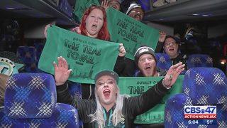 Jags fans prepare to head north