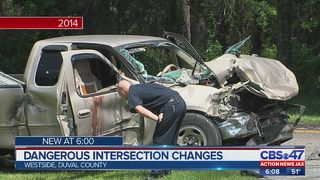 Safety upgrades coming to dangerous Jacksonville intersection