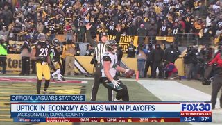 Uptick in economy as Jags win playoffs