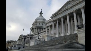 Senators spar over Trump