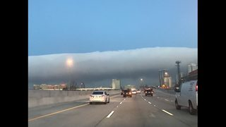 Fogs lifts in Jacksonville, but not before some amazing pics were taken