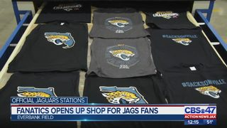 Fanatics opens up shop for Jags fans