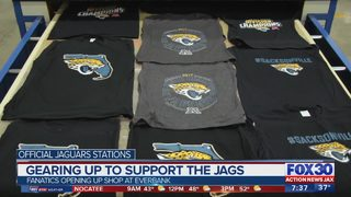 Gearing up to support the Jags