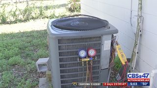 Cold temperatures in Jacksonville area sending many HVAC units into