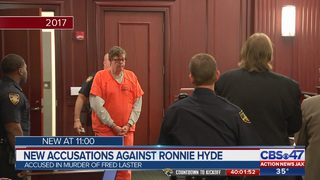 New accusations against Ronnie Hyde