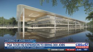 PGA Tour HQ expansion to bring 300 jobs to St. Johns County