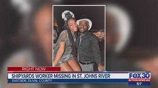 Jacksonville police: Man missing after falling in St. Johns River near downtown Jacksonville