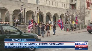 St. Augustine Confederate Monument Commission named