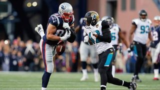 Jaguars safety Barry Church fined for hit in AFC Championship against Patriots TE Rob Gronkowski