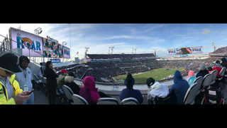 The new home of the Jacksonville Jaguars: TIAA Bank Field