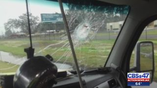 FHP investigates rocks thrown at truckers