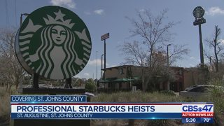 Police report reveals new details about Starbucks burglaries in St. Johns County