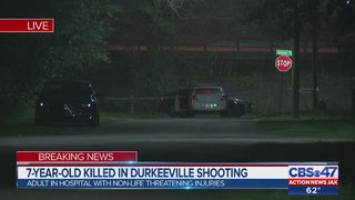 7-year-old killed in Durkeeville shooting