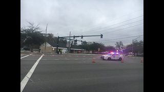 Driver killed in San Jose Blvd. crash that damages traffic light