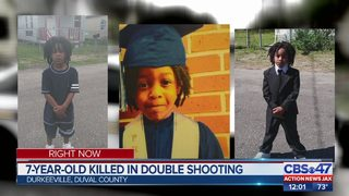 7-year-old killed in drive-by shooting
