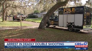 Deputies: Man arrested in St. Johns County after deadly double shooting