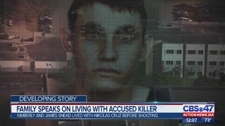 Family speaks out on living with accused killer