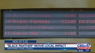 "Local impact of ""Black Panther"" movie"