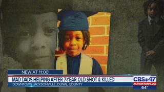 Mad Dads helping after 7-year-old shot and killed