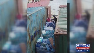 Boatload of supplies to Puerto Rico