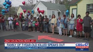 Family of 7-year-old killed speaks out