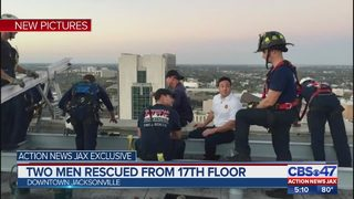 Firefighters describe 17-story rescue