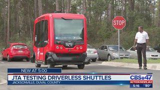 JTA testing driverless shuttles