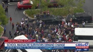 School massacre survivors travel to Tallahassee to demand change