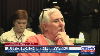 Sentencing phase begins in the murder trial of Cherish Perrywinkle
