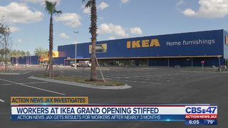 Some workers at Jacksonville IKEA opening got stiffed