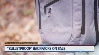 Action News Jax Sunday Feb. 18, 2018: Florida company selling bullet-proof backpacks