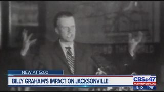Jacksonville area remembers Billy Graham after announcement of passing