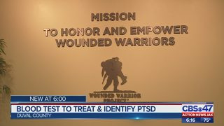 Blood test could help veterans learn more about dealing with PTSD