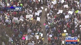 Students rally in Tallahassee to push for gun law changes