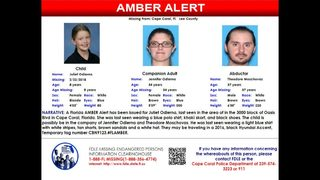 Missing child alert issued for Lee County 8-year-old girl