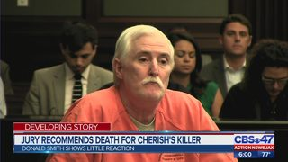 Jury recommends death for Cherish Perrywinkle