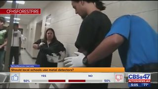 Metal detectors in local schools