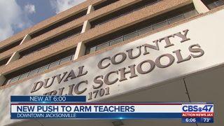 New push to arm teachers