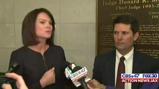 State Attorney Melissa Nelson reacts to death sentence