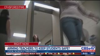 Arming teachers to keep students safe?
